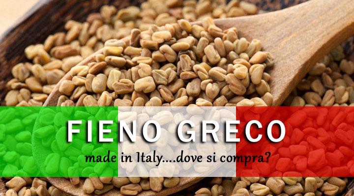 Fieno greco italiano dove si compra erbe officinali - Carta specchio dove si compra ...